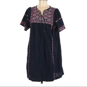 Beltaine Embroidered Blue Dress